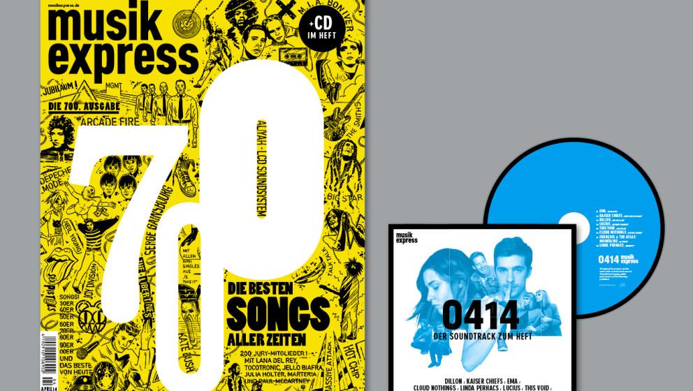 Die '700 besten Songs aller Zeiten' aus unserer 700. Musikexpress-Ausgabe...