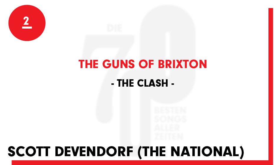 2. The Clash - 'The Guns Of Brixton'