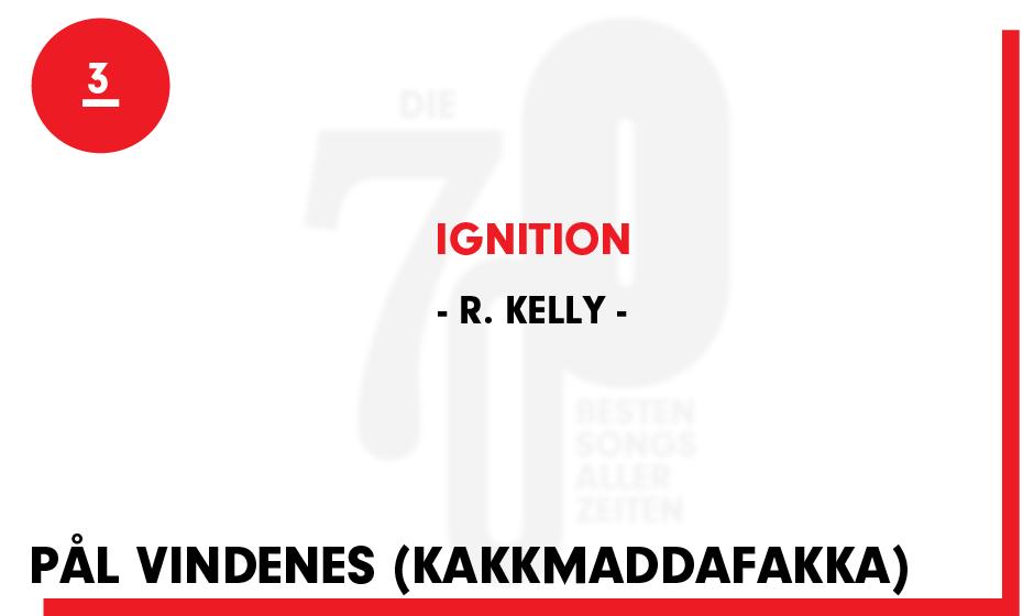 3. R. Kelly - 'Ignition'