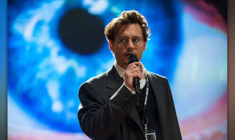 """Johnny Depp wird zum Geist in der Maschine: """"Transcendence"""" philosophiert als Techthriller über künstliche Intelligenz."""