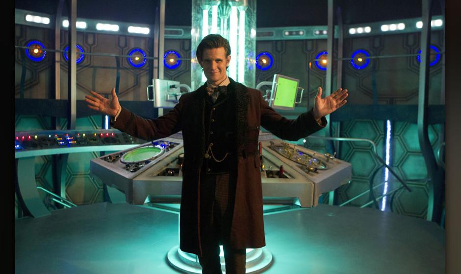 Von Peter Capaldi gibt es außer Photoshop-Desastern leidlich talentierter Fans noch kein Bild im Doktoren-Outfit. Deshalb: M