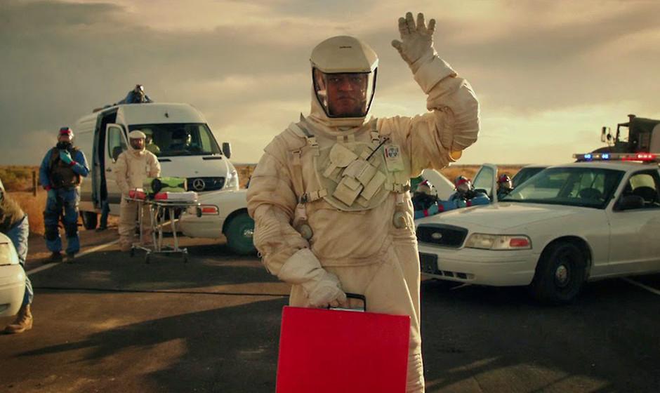 """Fiel beim Village -People-Casting durch: Laurence Fishburne bekommt im Thriller """"The Signal"""" das Y einfach nicht hin."""