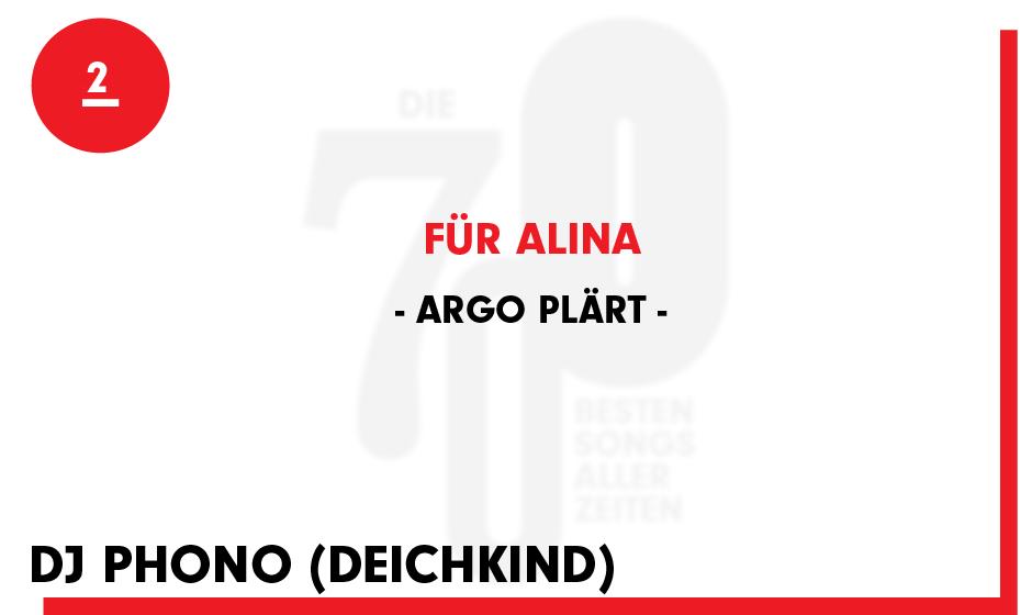 2. Argo Plärt - 'Für Alina'