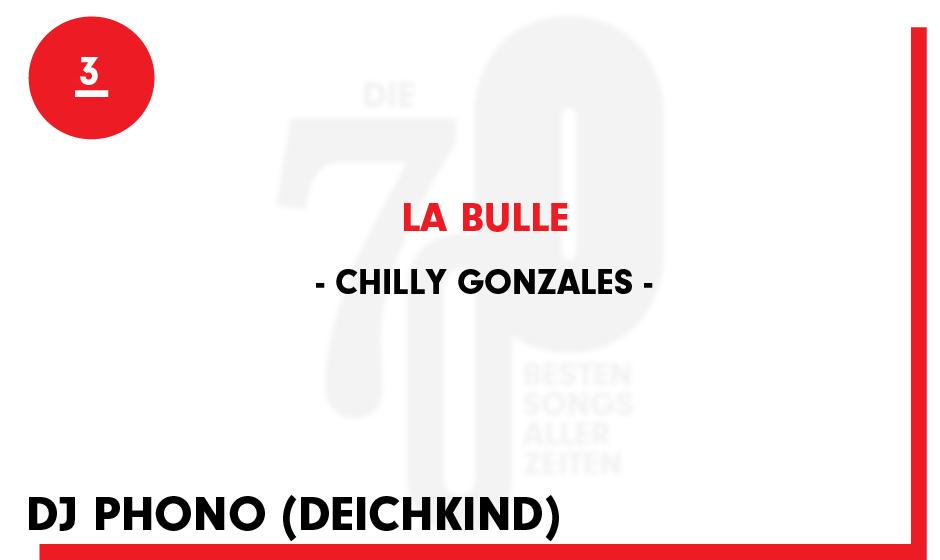 3. Chilly Gonzales - 'La Bulle'