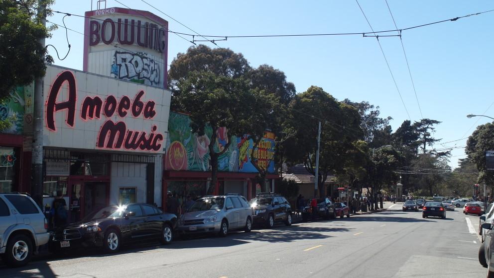 Zu Besuch bei Amoeba Records in San Francisco