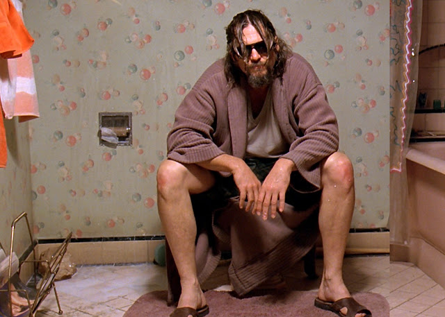 Jeff Bridges spielte 'The Dude' im Film 'The Big Lebowski'. Hier einige Szenenbilder:
