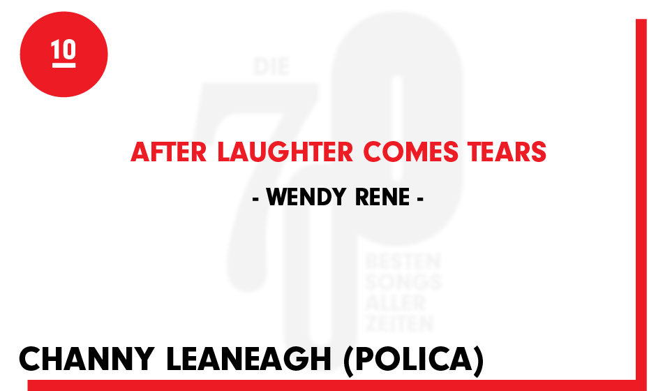 10. Wendy Rene - 'After Laughter Comes Tears'