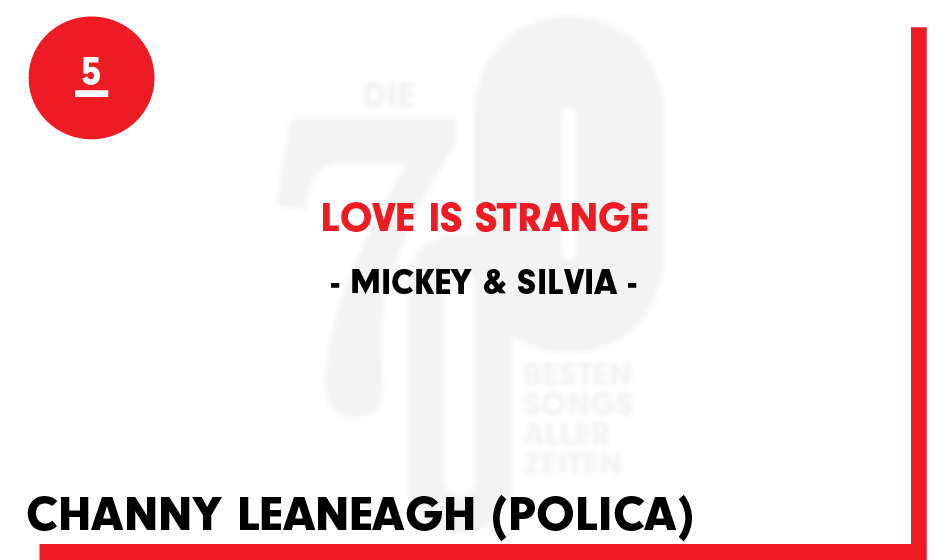 5. Mickey & Silvia - 'Love Is Strange'