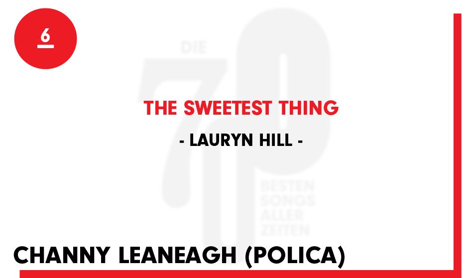 6. Lauryn Hill - 'Love Is Strange'