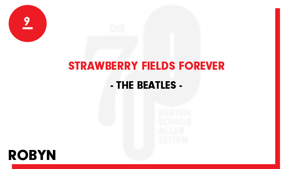 9. The Beatles - 'Strawberry Fields Forever'