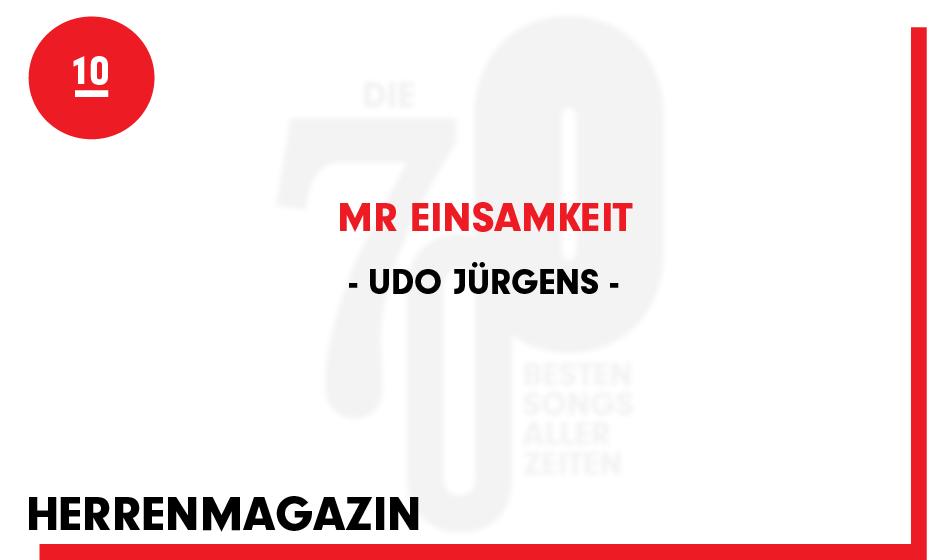 Udo Jürgens - 'Mr Einsamkeit'