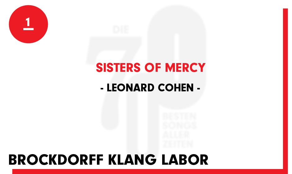 1. Leonard Cohen - 'Sisters Of Mercy'