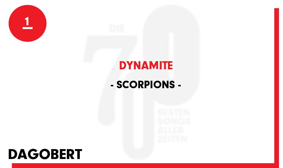 1. Scorpions - 'Dynamite'