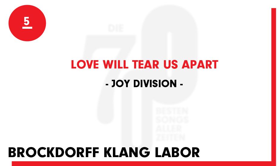 5. Joy Division - 'Love Will Tear Us Apart'
