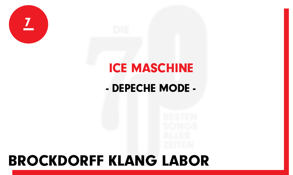 7. Depeche Mode - 'Ice Machine'