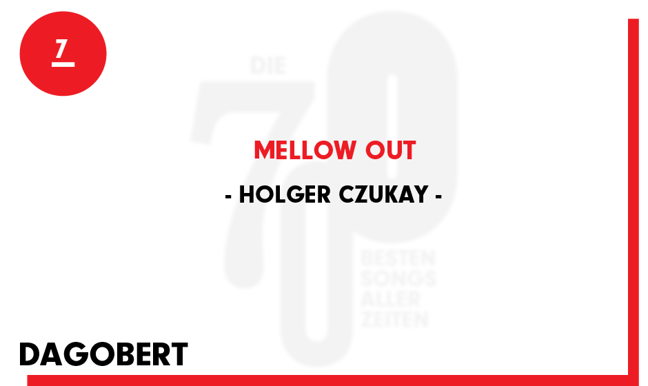 7. Holger Czukay - 'Mellow Out'