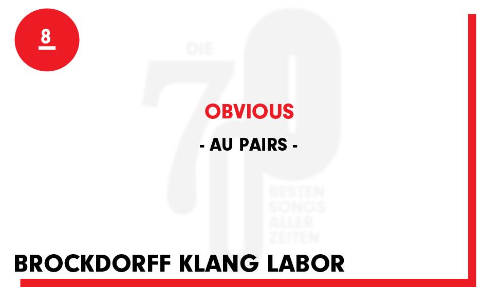 8. Au Pairs - 'Obvious'