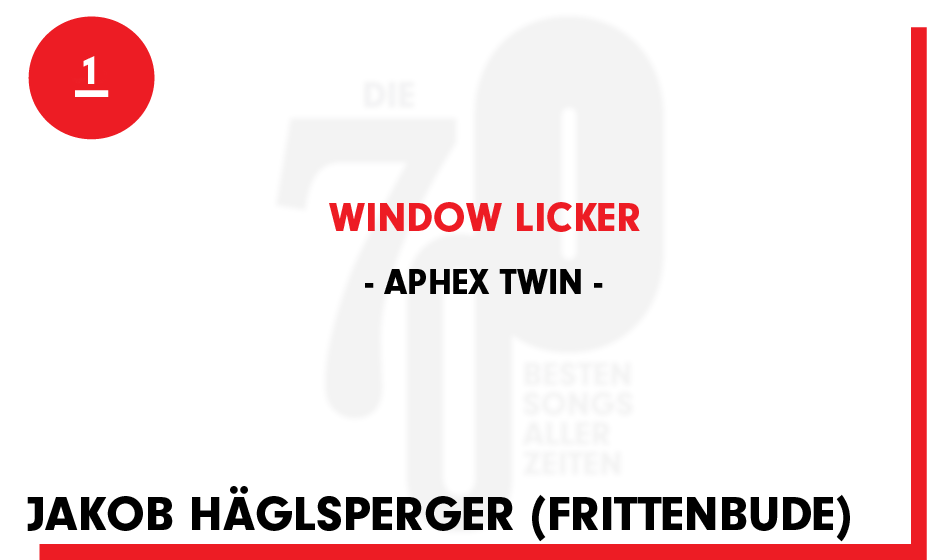 1. Aphex Twin - 'Window Licker'