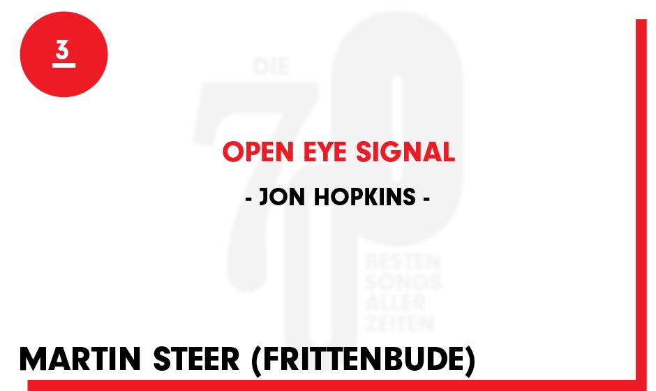 3. Jon Hopkins - 'Open Eye Signal'