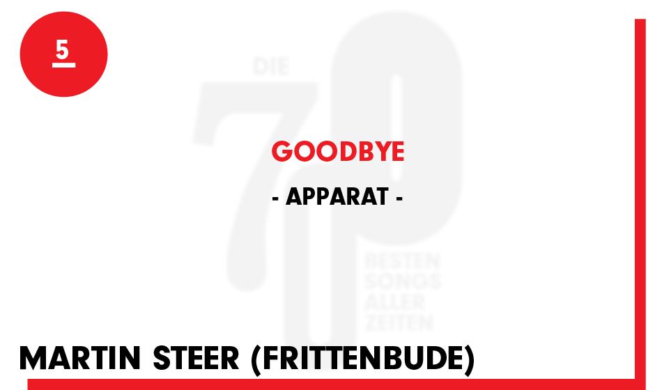 5. Apparat - 'Goodbye'
