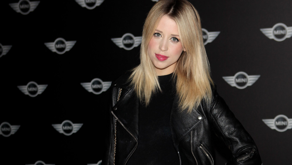 LONDON, ENGLAND - NOVEMBER 18:  Peaches Geldof attends the World Premiere of the new MINI at the Old Sorting Office on Novemb