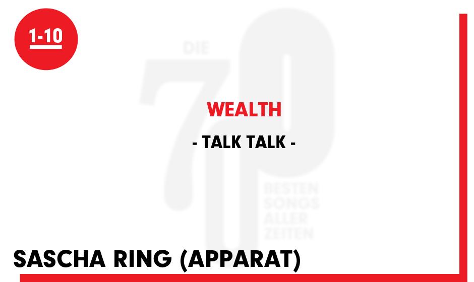 Talk Talk - 'Wealth'