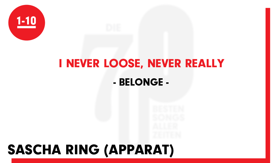 Belong - 'I never loose, never really'