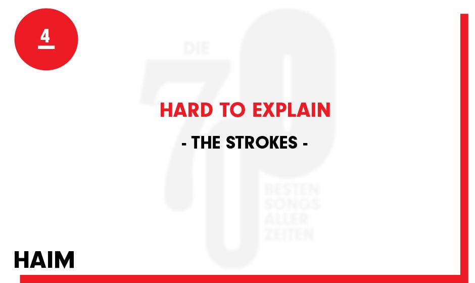 4. The Strokes - 'Hard To Explain'