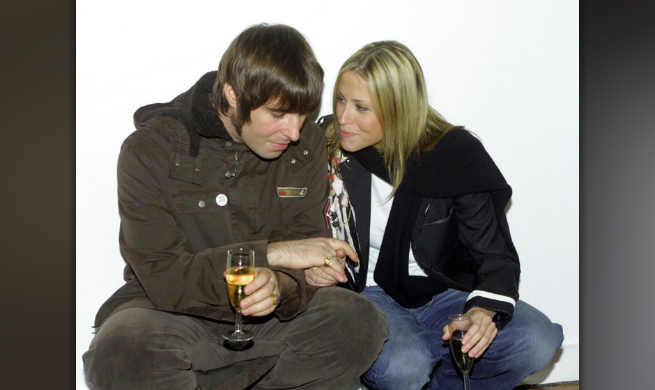 Liam Gallagher and Nicole Appleton (Photo by Jon Furniss/WireImage)