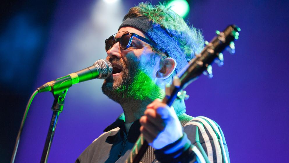 LONDON, UNITED KINGDOM - SEPTEMBER 07: Mark Oliver Everett of Eels performs on stage at O2 Shepherd's Bush Empire on Septembe
