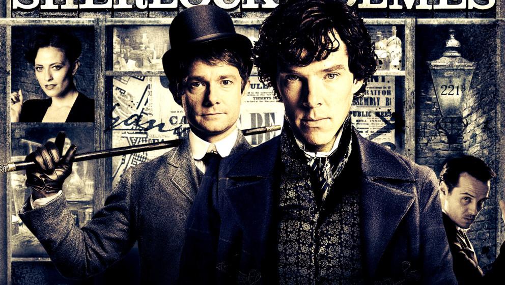 'Sherlock' ab 18. April 2014 wieder in der ARD zu sehen