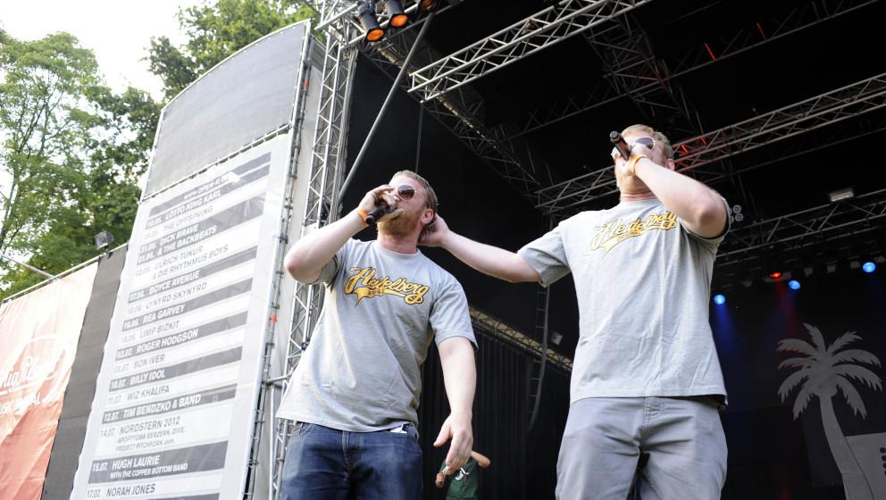 Stieber Twins - Konzert bei Beats im Park, Midsummer Special Festival auf der openair-Buehne/Freilichtbuehne im Stadtpark Ham