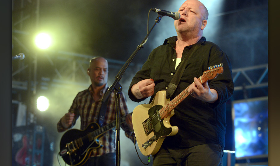 INDIO, CA - APRIL 12:  Black Francis of The Pixies performs as part of the Coachella Valley Music and Arts Festival at The Em