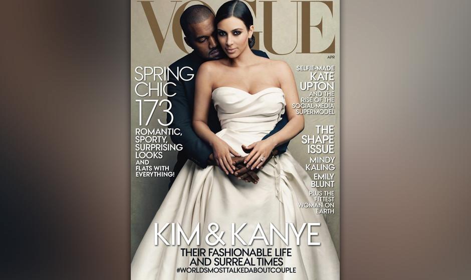 Für die Benutzung von Kanye Wests Song 'Bound 2' im Making-Of-Video dieses Covershootings von West und seiner Frau Kim Karda