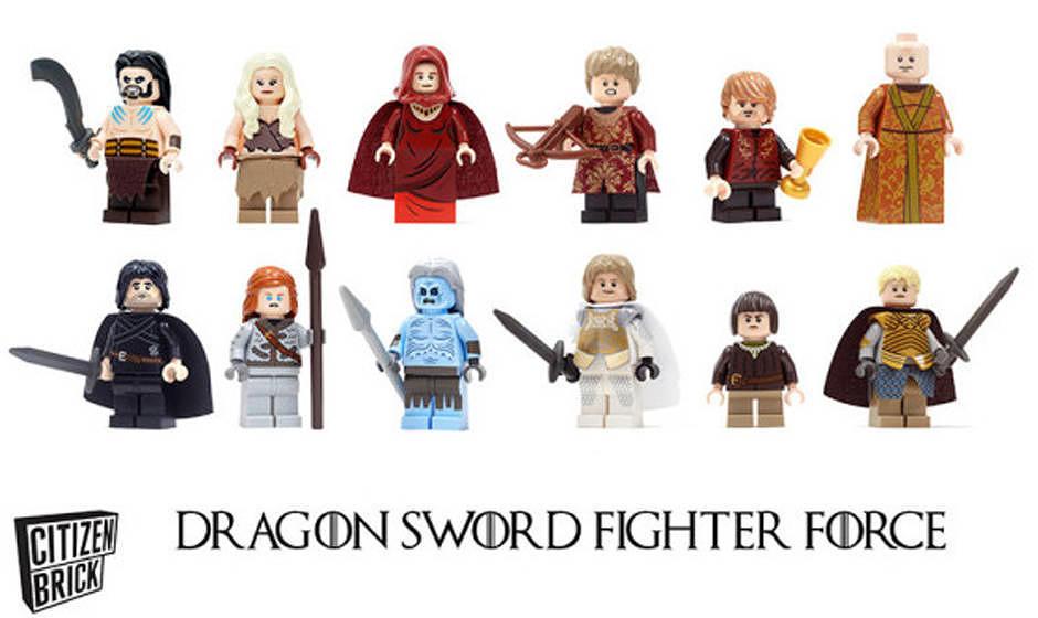'Dragon Sword Fighter Force' heißt die neue, von 'Game Of Thrones' inspirierte, Spielzeugserie.