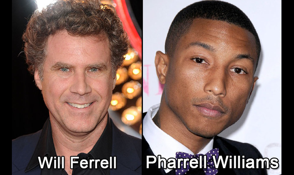 Aus Will Ferrell und Pharrell Williams...