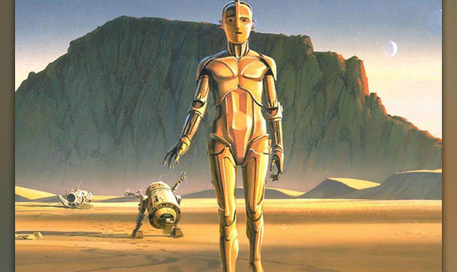 'Star Wars': So sehen die Original-Illustrationen von 1975 aus