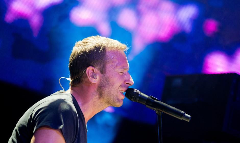 Coldplay live in Köln 2014