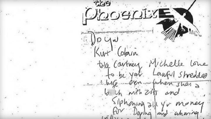 'Willst du, Kurt Cobain, Courtney Michelle Love zu deiner dir angetrauten, rechtmäßigen Ehefrau nehmen, auch wenn sie ein v