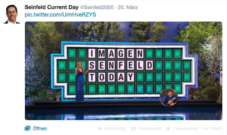 'Imagen Senfeld today' – Auf Seinfeld2000 glänzt man durch Rechtschreibfehler...