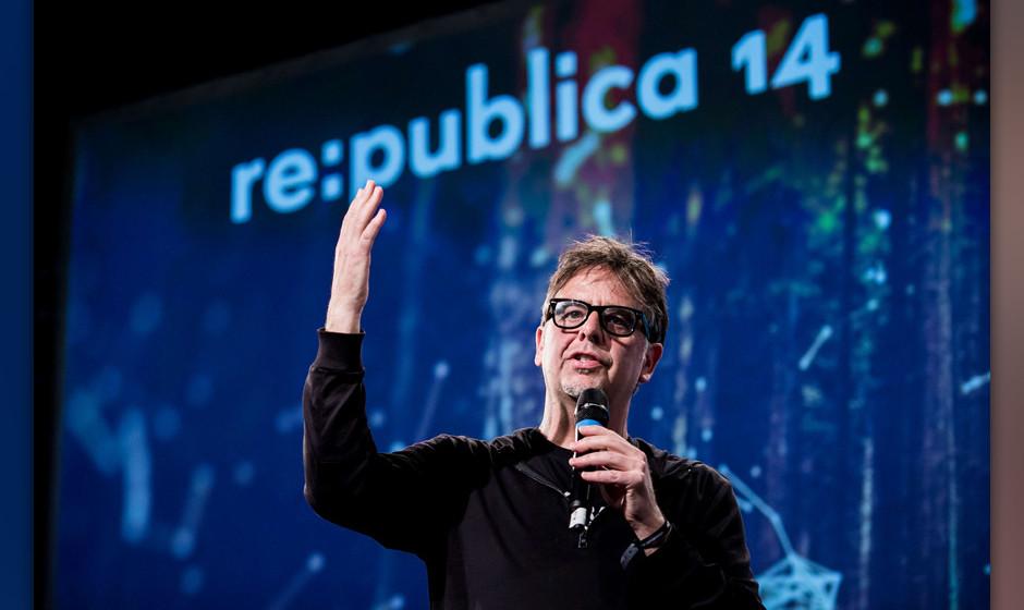 republica 2014 - Tag 2, Stage 1, Ron DeibertCopyright: republica/Gregor Fischer, 07.05.2014 CC-BY-SA 2.0