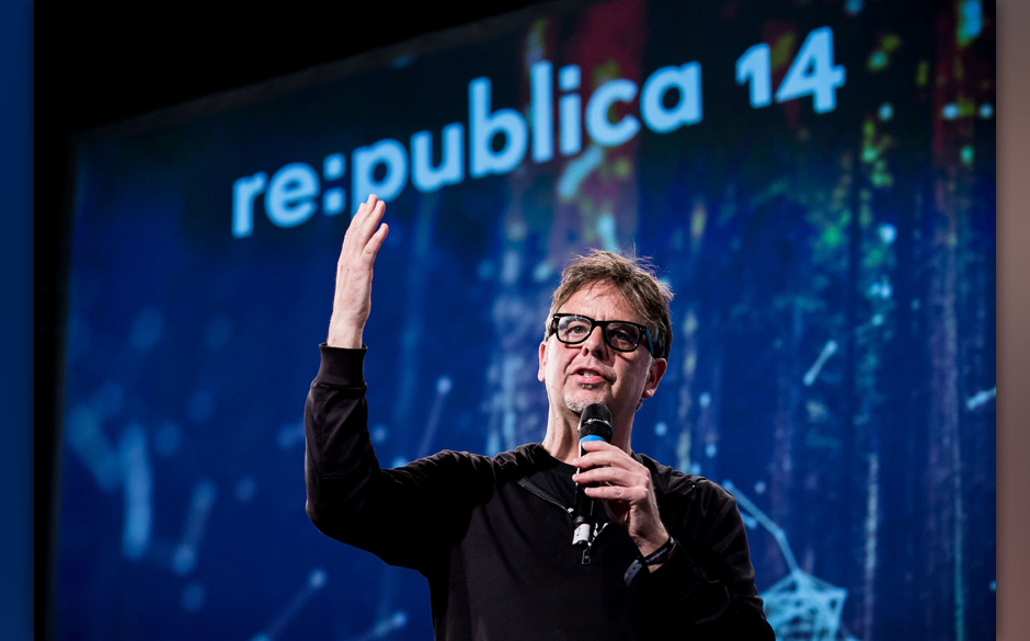 republica 2014 - Tag 2, Stage 1, Ron Deibert