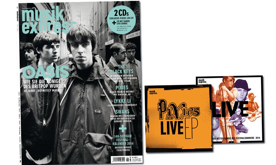 So sieht der neue ME aus - mit Pixies-Live-EP!