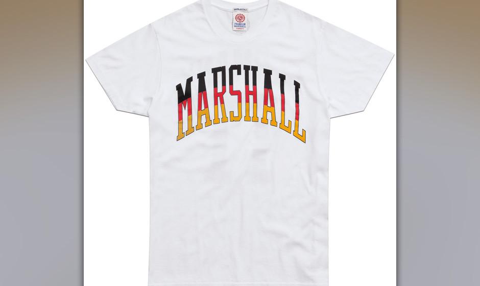 Deutschland-Shirt im Vintage-Look