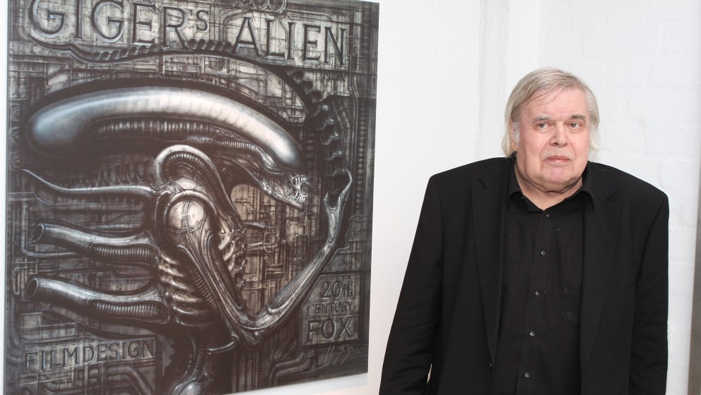 HR Giger (Designer der Monster von Aliens, Species u.v.a) , Retrospektive in Hamburg, Fabrik der Kuenste, 19.01.2012