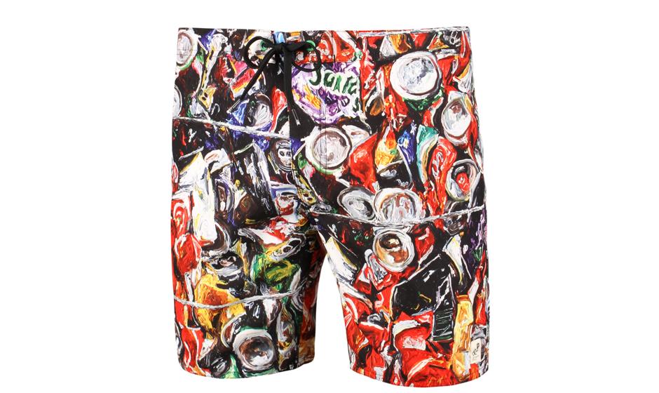 Zu 100% aus Plastik: Shorts von Eduardo Srur