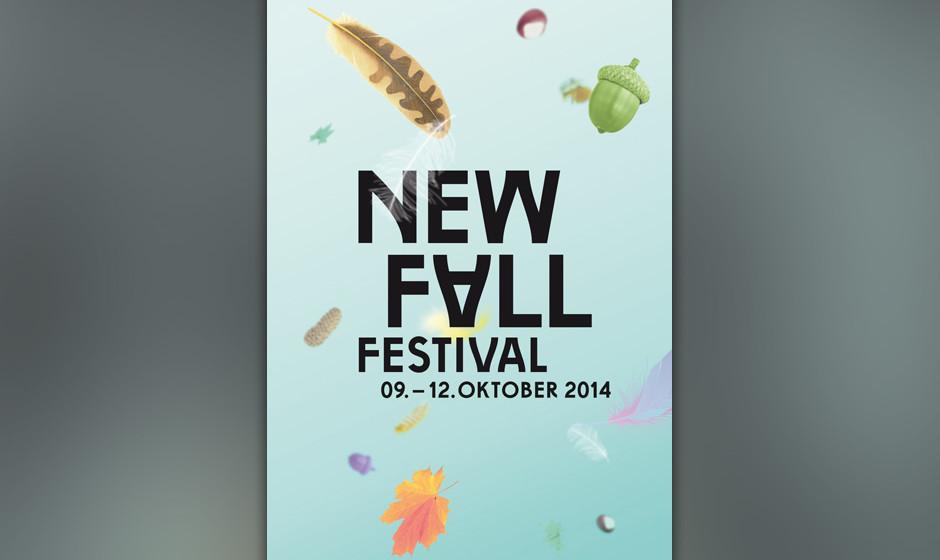 Das 'New Fall Festival' findet vom 09.-12. Oktober 2014 statt.