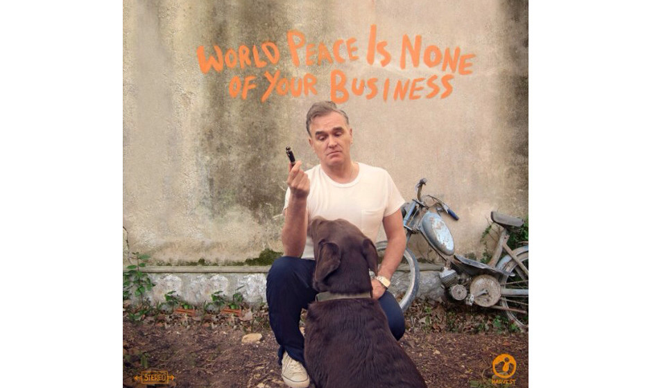 ... sein neues Album WORLD PEACE IS NONE OF YOUR BUSINESS.