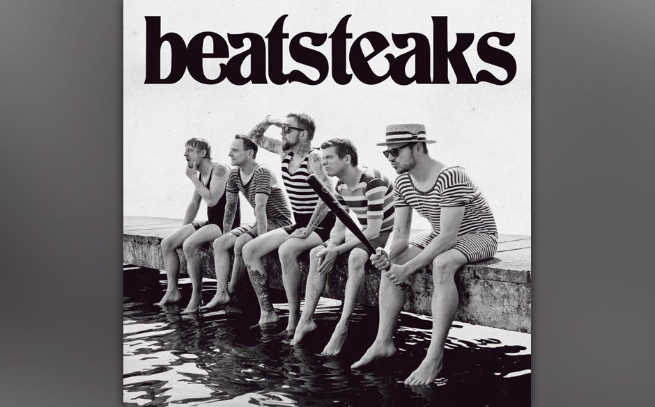 Fünf Jungs am See: So sieht das neue Album der Beatsteaks aus