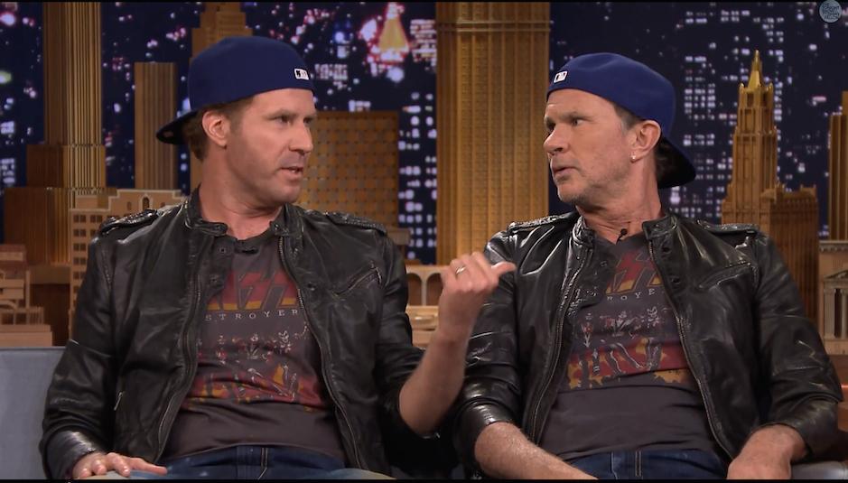 Wer ist wer? Will Ferrell und Chad Smith vor ihrem Duell.